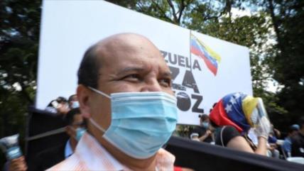 Venezuela detiene a periodista afín a Leopoldo por planes conspirativos