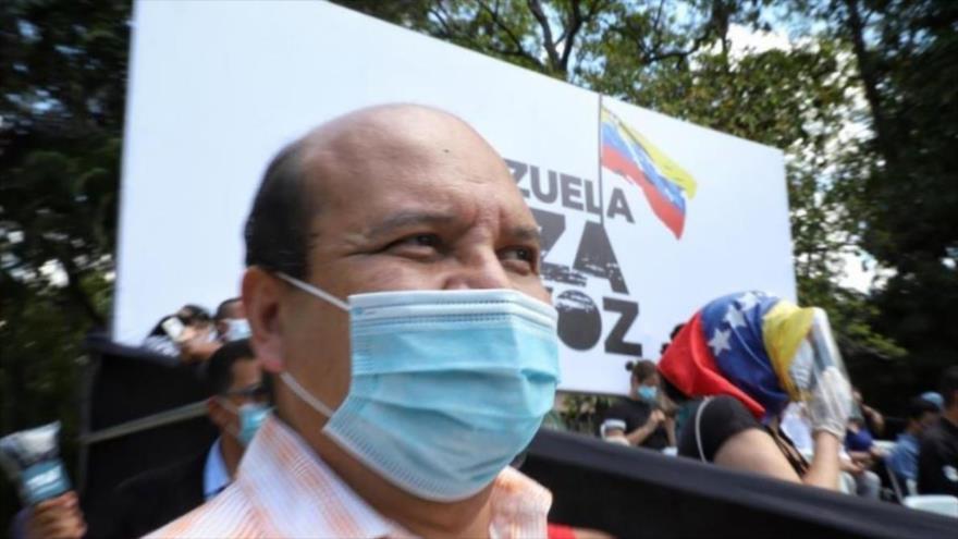 El periodista venezolano Roland Carreño, coordinador del partido opositor Voluntad Popular.