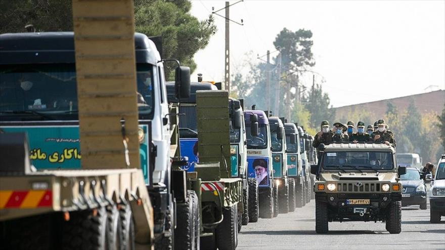 500 vehículos superpesados se incorporan al Ejército de Irán