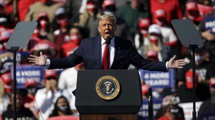 Trump: En EEUU no hay libertad de prensa por medios corruptos