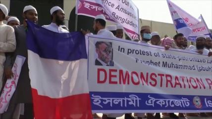 El mundo musulmán condena declaraciones islamófobas de Macron