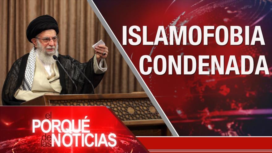 El Porqué de las Noticias: Líder contra islamofobia. Rueda de prensa de Maduro. Elecciones 2020