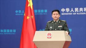 """Defensa china urge a EEUU a detener """"contacto militar"""" con Taiwán"""