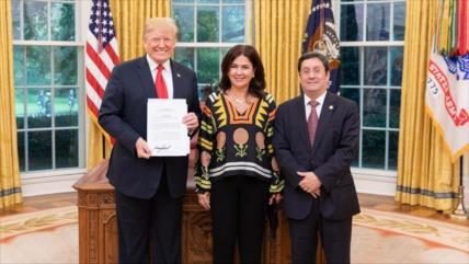 Revelan apoyo del Gobierno colombiano a la campaña de Trump