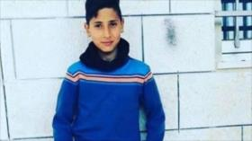 Tribunal israelí condena a un niño palestino a 3 años de cárcel