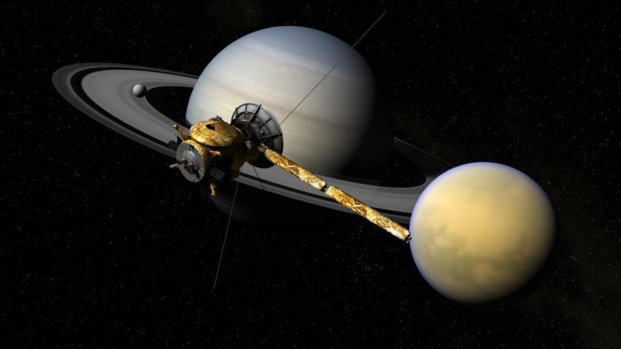 ¿Una señal de vida en Titán? Científicos descubren extraña molécula en la luna de Saturno.