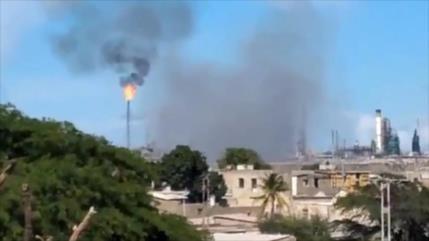 Venezuela: Refinería de Amuay fue atacada con un misil a distancia