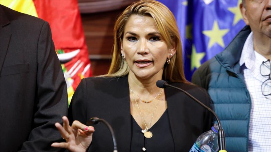 """Parlamento boliviano pide juicio contra Áñez por actos """"ilícitos"""""""