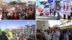 Protesta contra Macron. Elecciones en EEUU. Terrorismo contra Caracas - Boletín: 01:30 - 30/10/2020