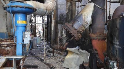 Maduro acusa a Colombia y EEUU por atentado contra refinería