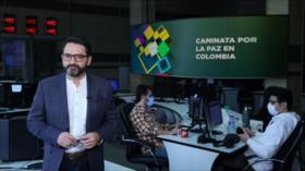 Buen día América Latina: Caminata por la paz en Colombia
