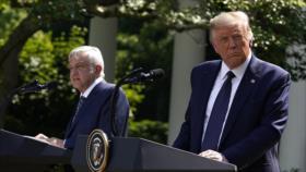 Trump se compara con López Obrador para absorber voto latino