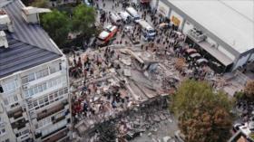 Ataque a libertad de expresión. Protestas contra Macron. Terremoto - Boletín: 16:30 - 30/10/2020