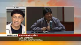 'Bolivianos tienen esperanza de que golpistas sean juzgados'
