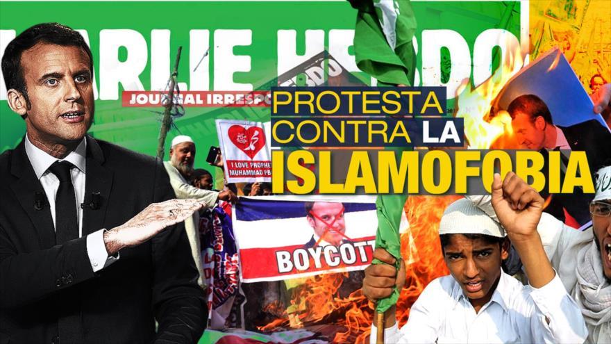 Detrás de la Razón: Líder de Irán acusa de islamófobo al presidente francés