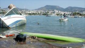 Vídeo: Vean cómo sismo desplaza los barcos en el mar Egeo
