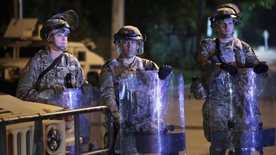 Crean unidad de respuesta rápida en EEUU por posibles disturbios   HISPANTV