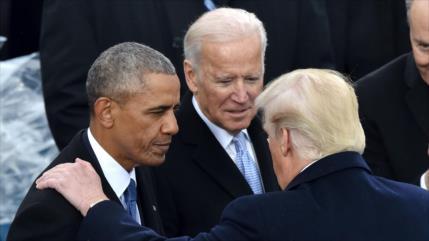 Obama se une a Biden frente a Trump en recta final de la campaña