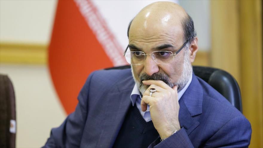 Abdolali Ali Asgari, presidente de la Organización de la Radio y Televisión de Irán (IRIB, por sus siglas en inglés).