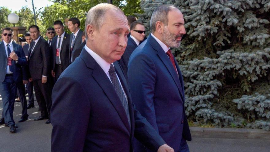 Rusia garantiza ayuda a Armenia si se agrava conflicto por Karabaj | HISPANTV