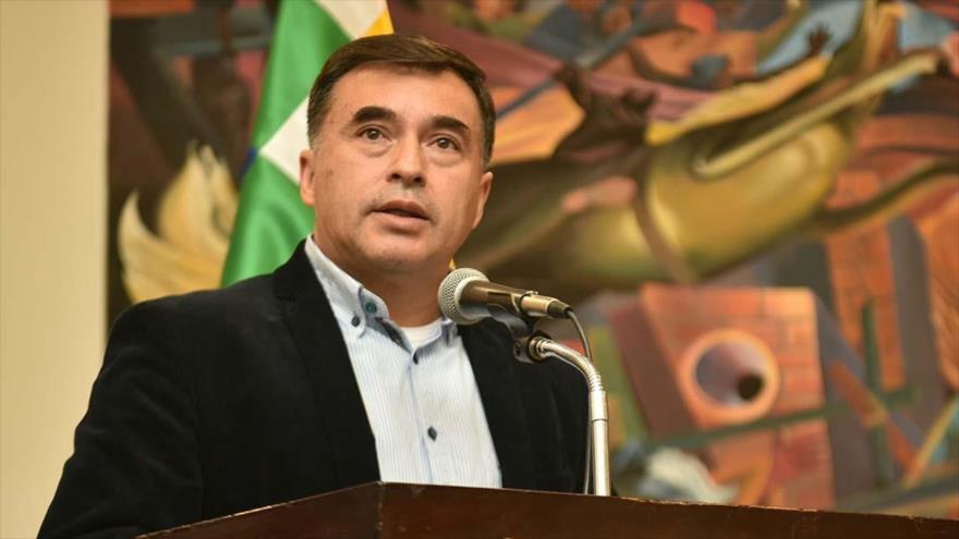El exministro de la Presidencia de Bolivia Juan Ramón Quintana.