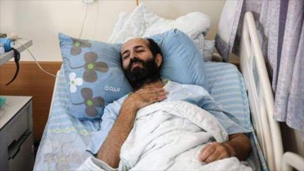 Preso palestino, a punto de morir tras 98 días de huelga de hambre