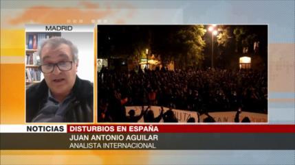 Aguilar: Las protestas en España beneficiarán a la ultraderecha
