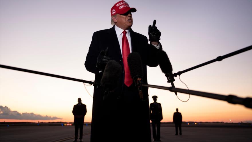 Trump planea declararse ganador incluso antes del fin del conteo | HISPANTV
