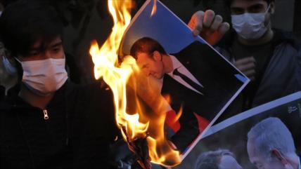 Irán pide a Francia retractarse y rechazar la islamofobia