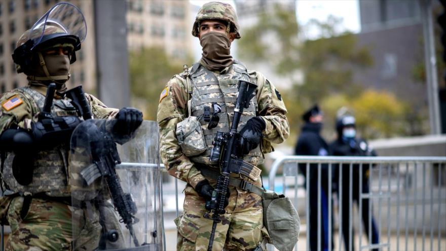 Guardia Nacional de EEUU en alerta ante disturbios poselectorales | HISPANTV