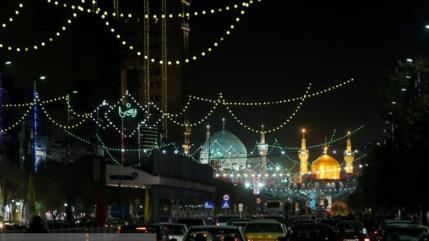 Iraníes festejan el natalicio del Profeta del Islam e Imam Sadiq