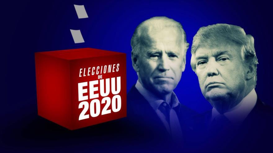 Trump habla de fraude en elecciones de EEUU