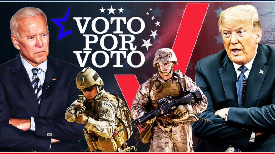 Detrás de la Razón: Las elecciones estadounidenses desafiadas por inconformidad y protesta