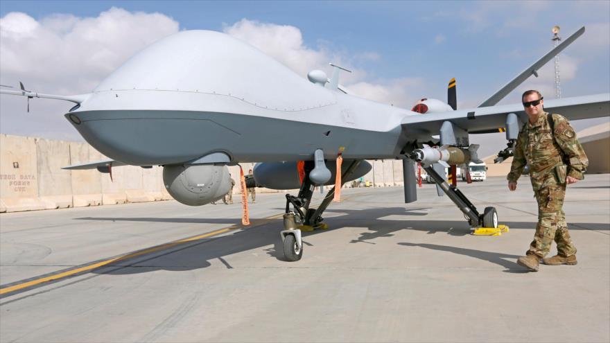 Un dron de combate no tripulado MQ-9 Reaper, de fabricación estadounidesne.