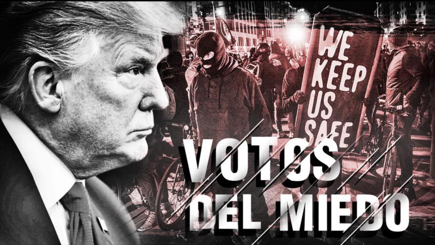 Detrás de la Razón: Las presidenciales estadounidenses se convierten en acusaciones de fraude y desorden