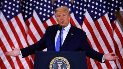 """La OSCE acusa a Trump de """"flagrante abuso de poder"""" en elecciones"""