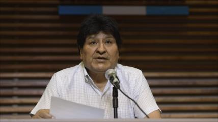 Morales ironiza: Si hay fraude, Trump debe acudir a Almagro