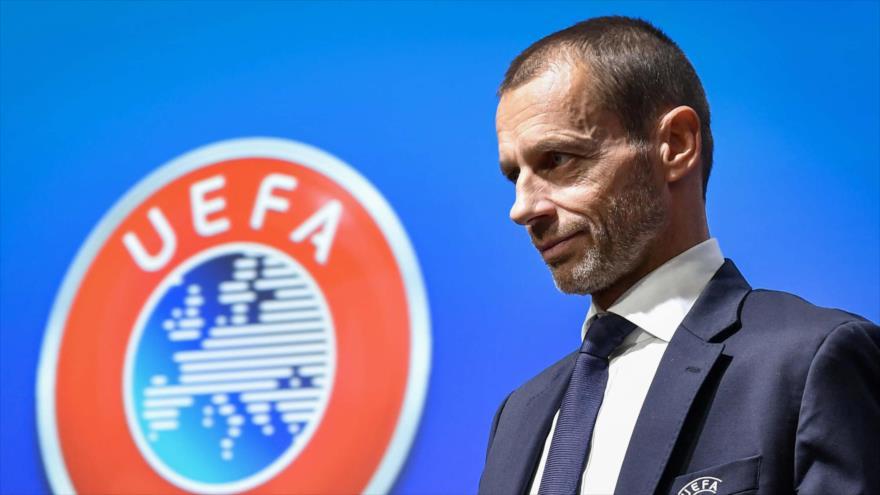 El presidente de la Liga de las Naciones de la Unión Europea de Asociaciones de Fútbol (UEFA), Aleksander Ceferin.