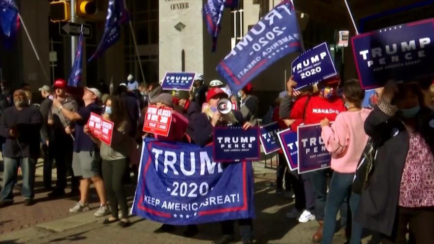 Siguen las protestas tras las elecciones en Estados Unidos