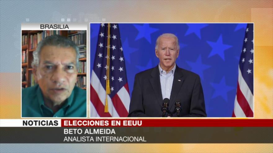 Almeida: Sistema electoral de EE.UU. no es democrático sino dictatorial | HISPANTV