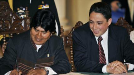 Exministros refugiados de Evo salen de embajada de México en Bolivia