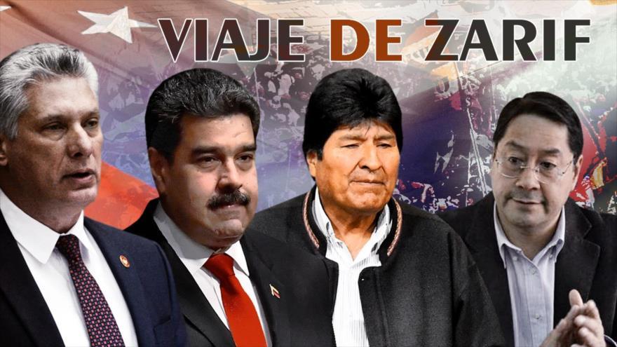 Detrás de la Razón: Canciller Zarif hace gira latinoamericana, Caracas-La Habana-La Paz