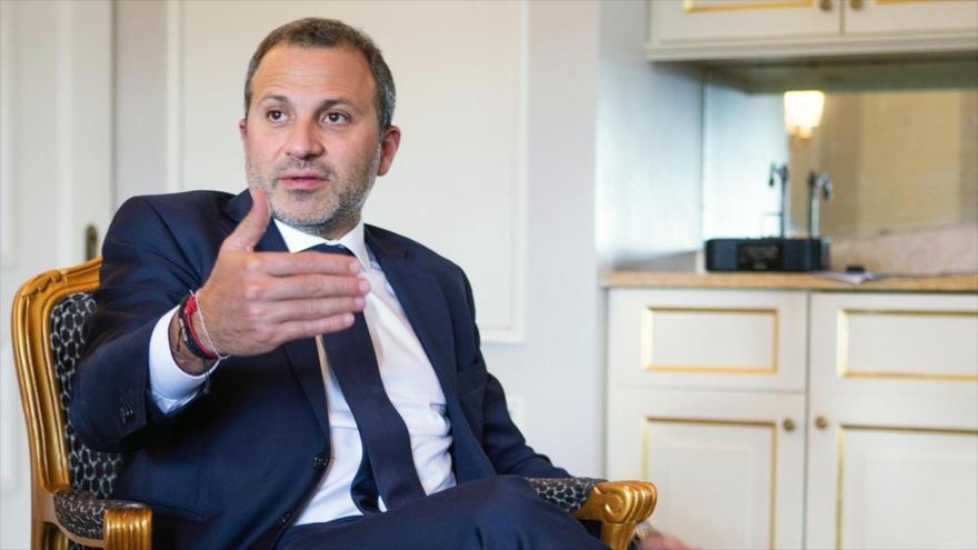 El excanciller libanés Yebran Basil.