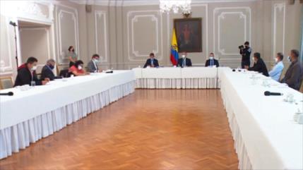 Los exguerrilleros de las FARC se reúnen con Iván Duque en Colombia