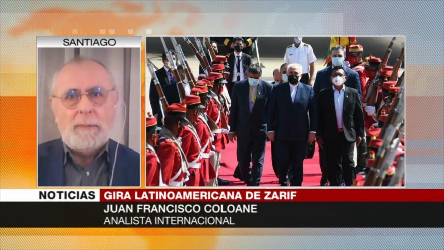 Coloane: Zarif en Bolivia demuestra voluntad de defender autonomía