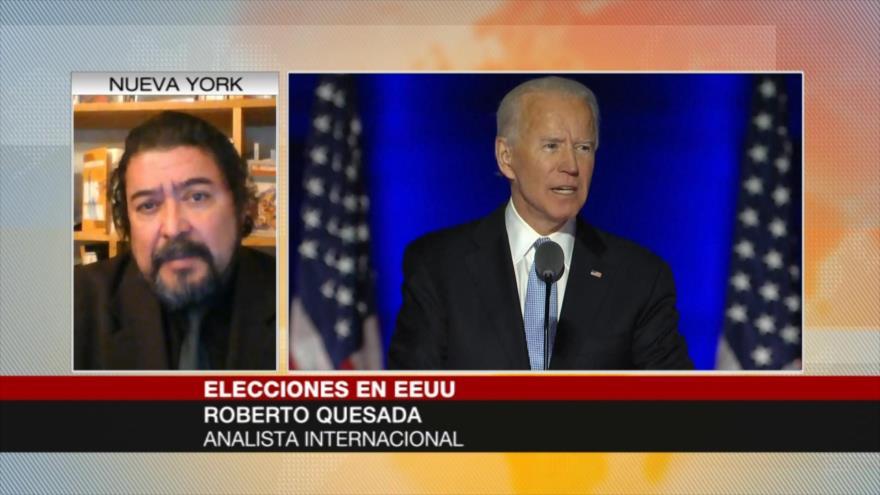 Quesada: A Biden le toca reconstruir todo EEUU destruido por Trump
