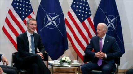 """OTAN saluda """"calurosamente"""" la victora de Biden y espera mejorar lazos"""