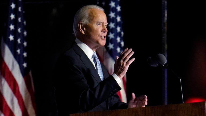 Biden promete unir a EEUU tras victoria electoral frente a Trump | HISPANTV