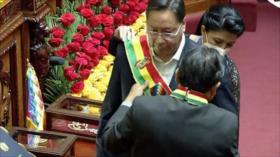 Luis Arce, posesionado como presidente de Bolivia