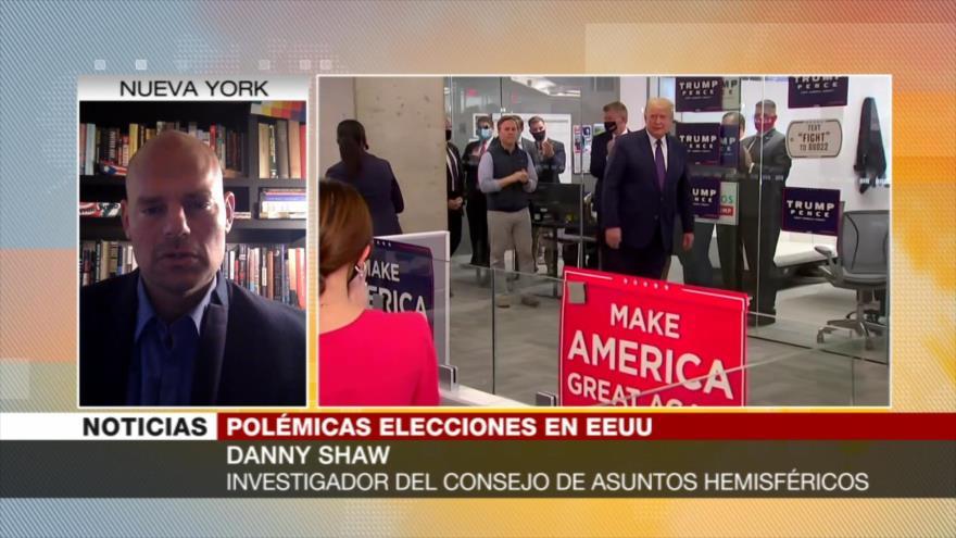 Shaw: Trump recurrirá a todas las trampas para robar las elecciones   HISPANTV
